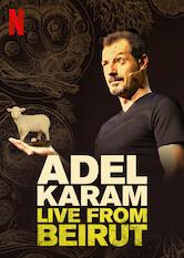 Search netflix Adel Karam: Live from Beirut